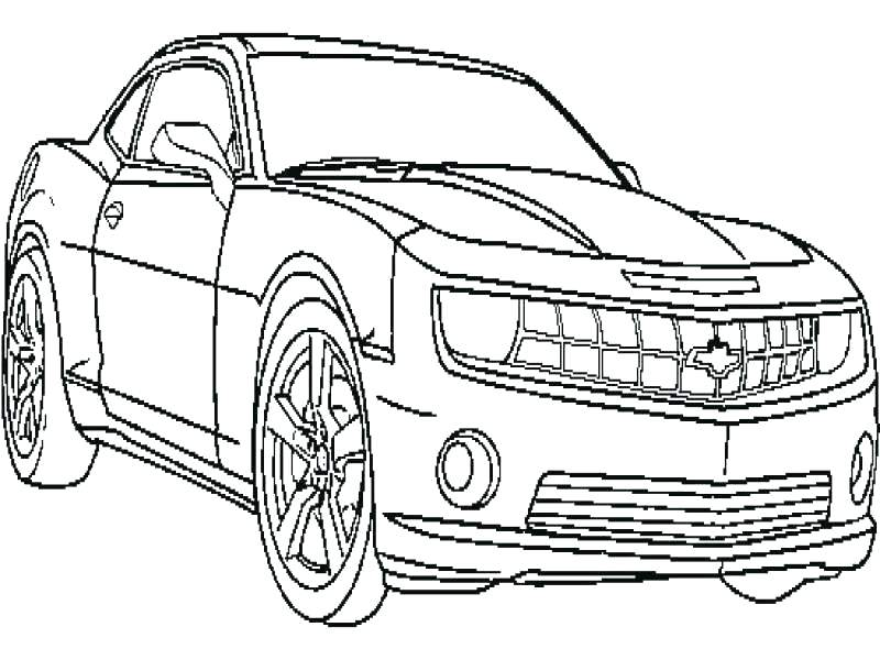 Chevrolet Camaro Drawing At Getdrawings Com