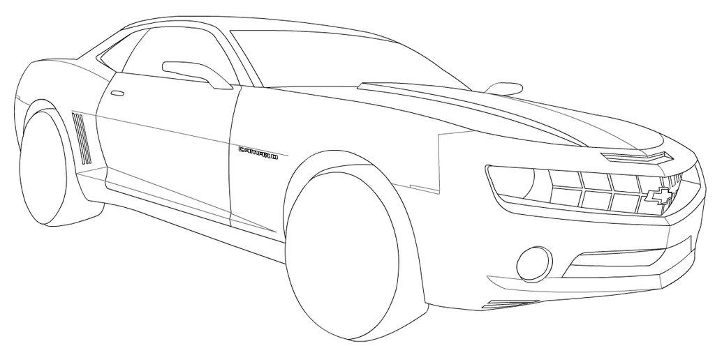 Chevrolet Camaro Drawing At Getdrawings Com