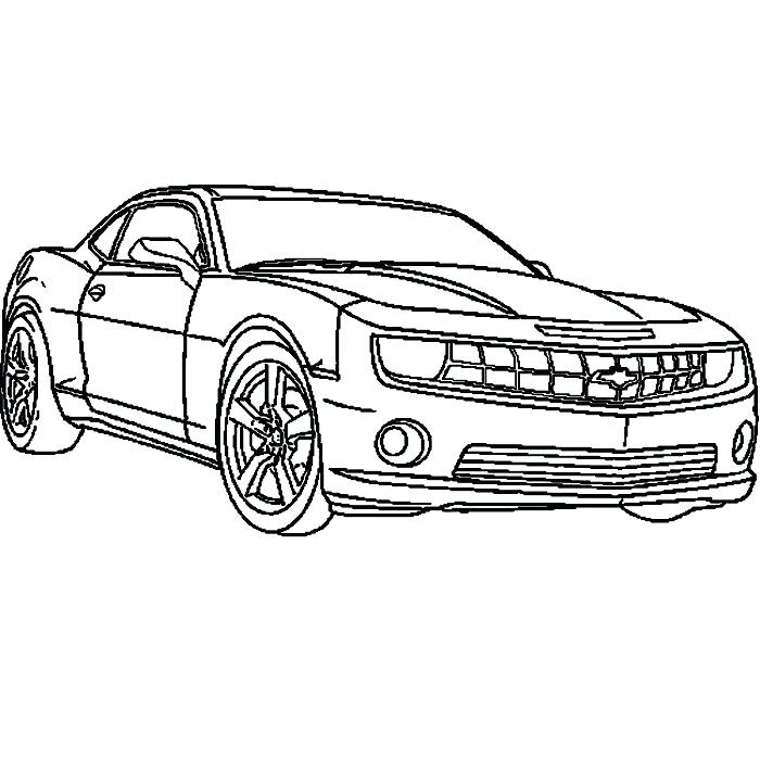 700x700 Coloriages Camaro