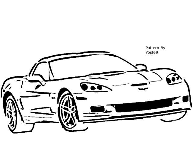chevrolet corvette drawing at getdrawings com