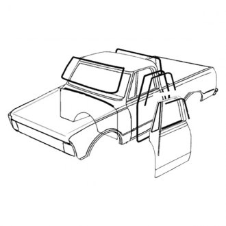 330x330 1972 Chevy Ck Pickup Replacement Window Components