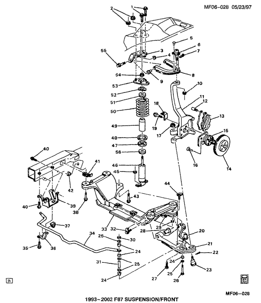 Chevy Camaro Drawing At Free For Personal Use Wiring Diagram Small Block 327 865x1003 Strut Mount Problems