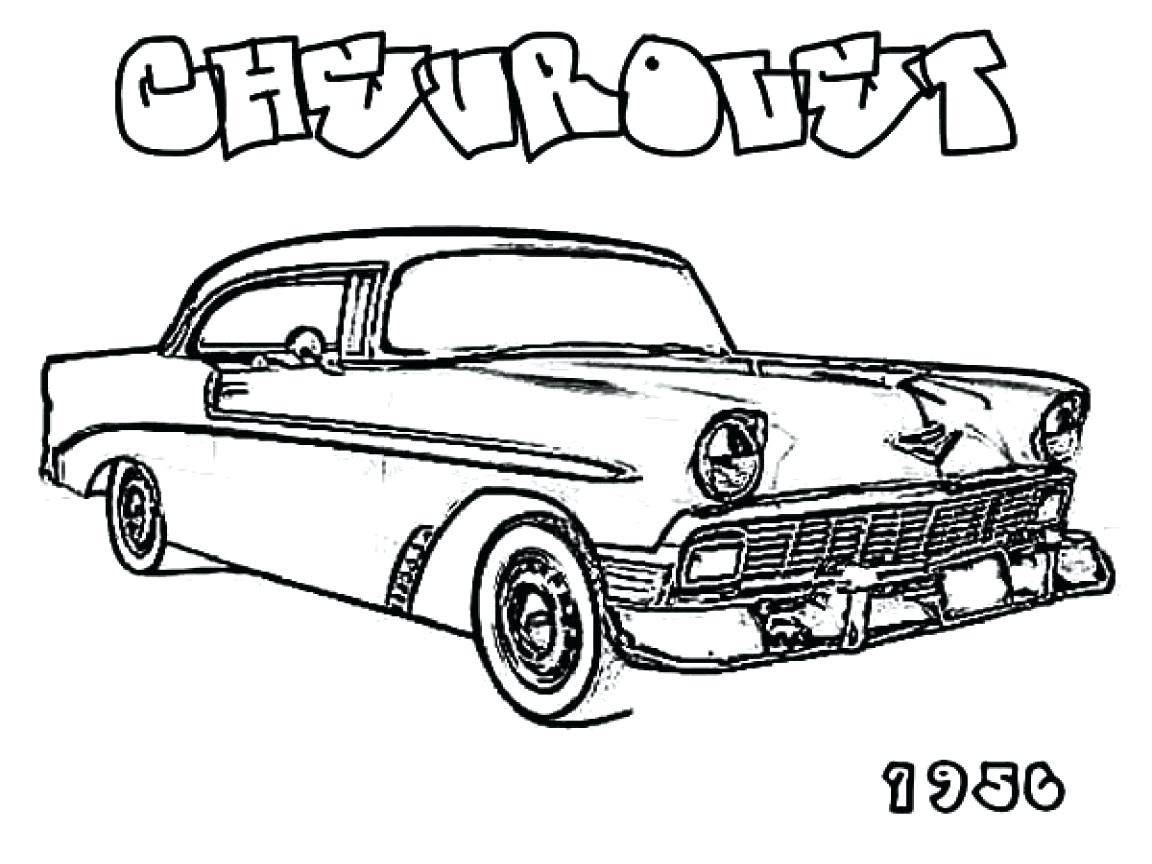 This is an image of Enterprising chevy coloring pages