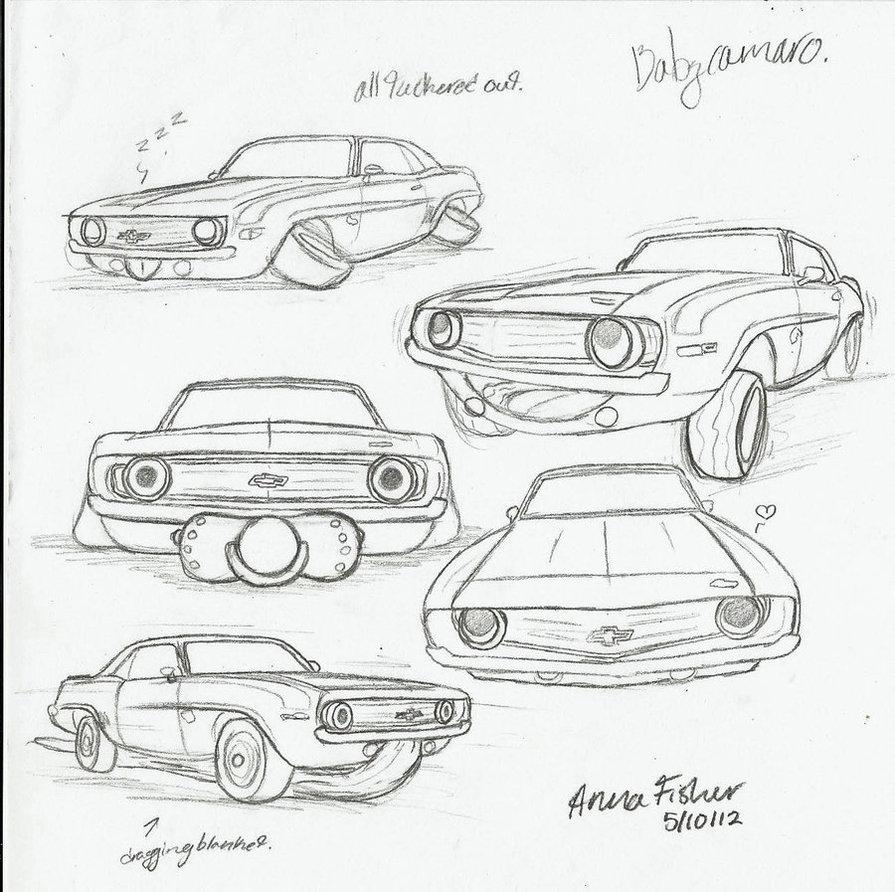 895x892 Baby Camaro Sketches By Jasondoggy101