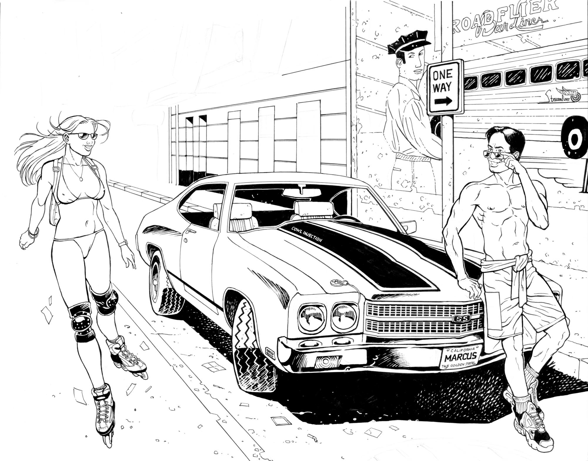 2000x1569 Chevrolet Chevelle Ss By Hardbodies