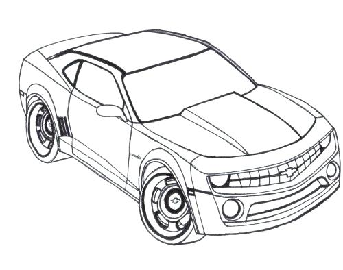 Chevy Drawing At Getdrawings Com