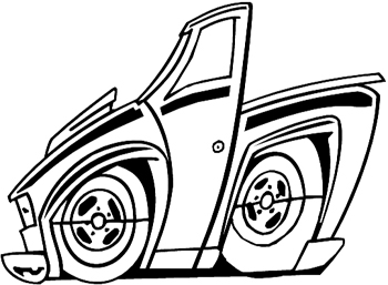 chevy drawing at getdrawings free for personal use chevy 1975 Chevy Pickup Truck 350x257 design your own decal popular decals