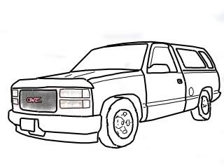 320x240 Line Drawing Chevy Truck Forum Gmc Truck Forum