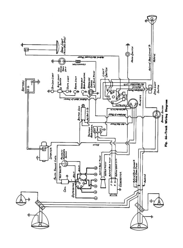 48 Chevy Wiring Diagram - Schematics Online on