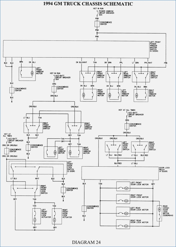 1994 Chevy Silverado Radio Wire Diagram