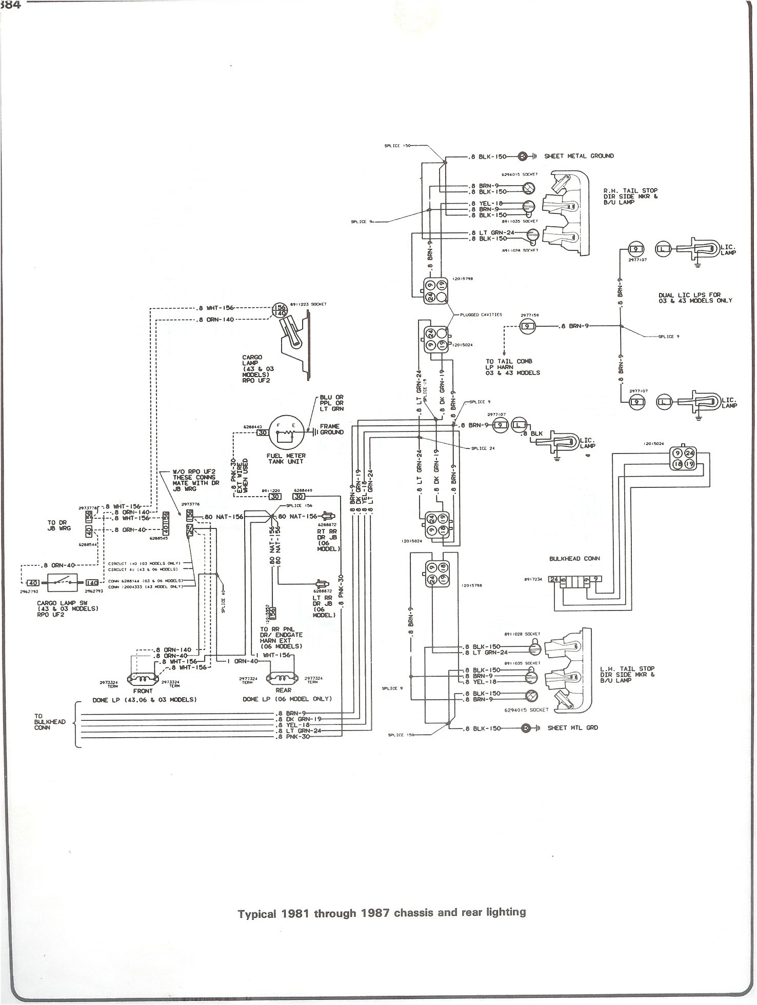 Chevy Silverado Drawing At Free For Personal Use 95 Tahoe Fuse Box 1476x1959 Complete 73 87 Wiring Diagrams
