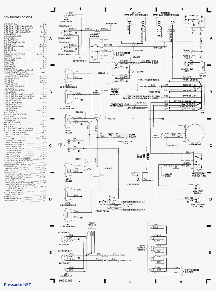 1964 Chevrolet Truck Wiring Diagram