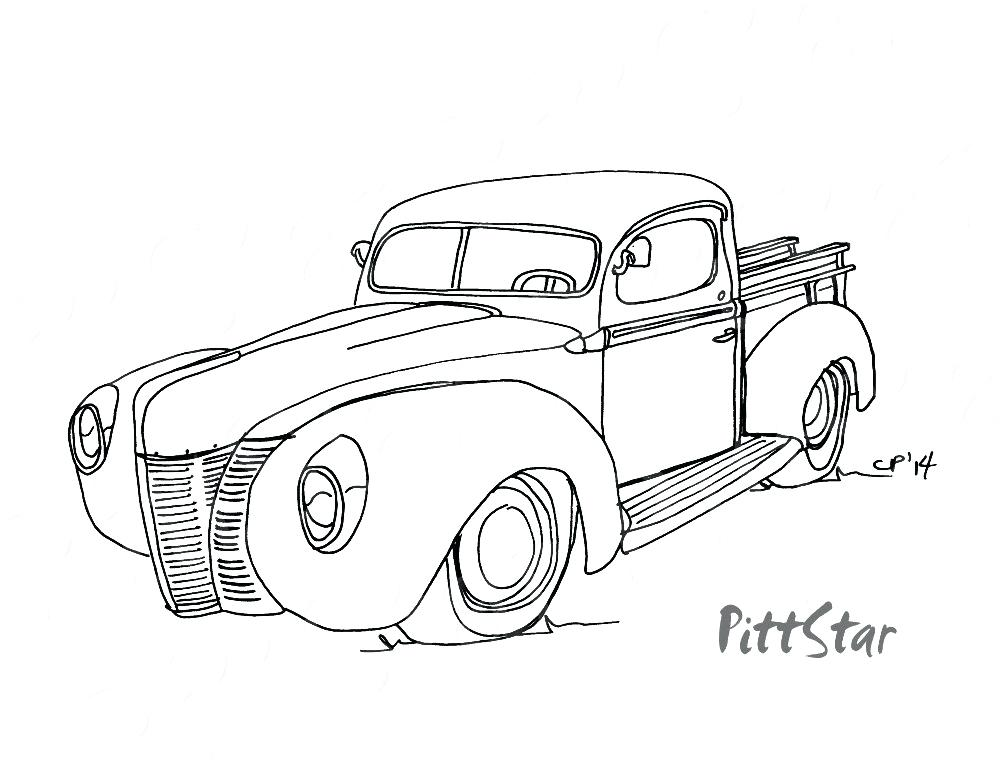1000x773 Chevy Coloring Pages Coloring Pages Car Coloring Pages Coloring