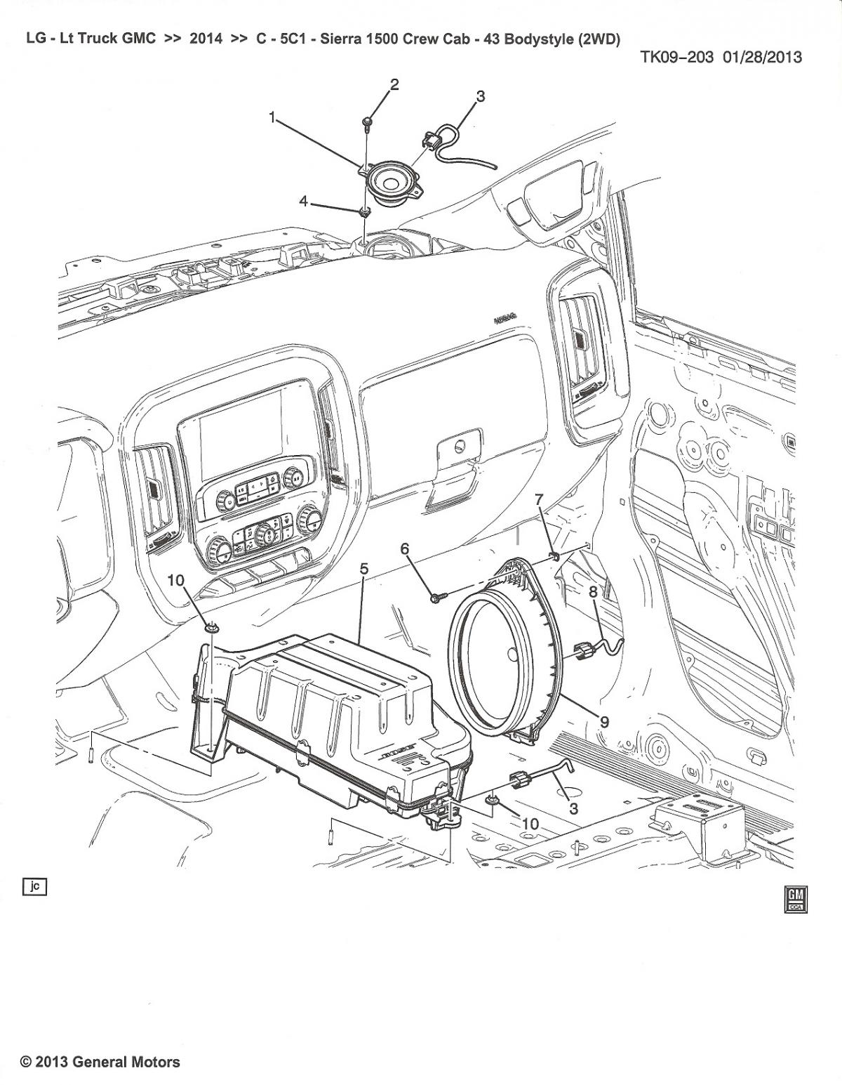 Chevy Truck Drawing At Free For Personal Use Motor Wiring Diagrams Additionally General Motors 1200x1545 Dash Speakers