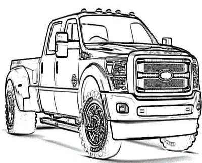 400x322 Lifted Jeep Coloring Pages Chevy Truck