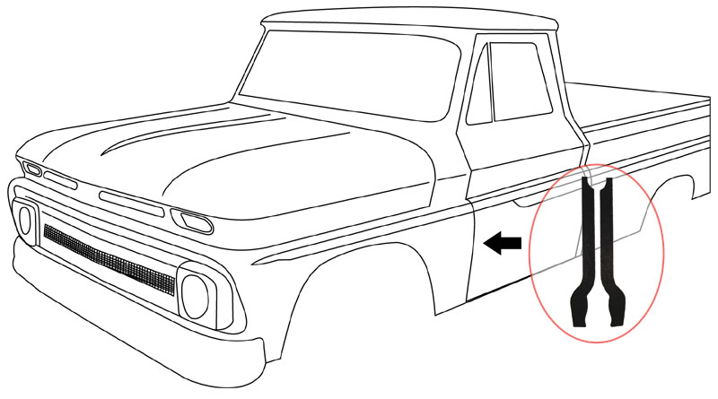 Chevy Truck Drawing on 1956 chevy pickup wiring diagram