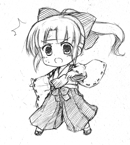 Chibi Anime Girl Drawing