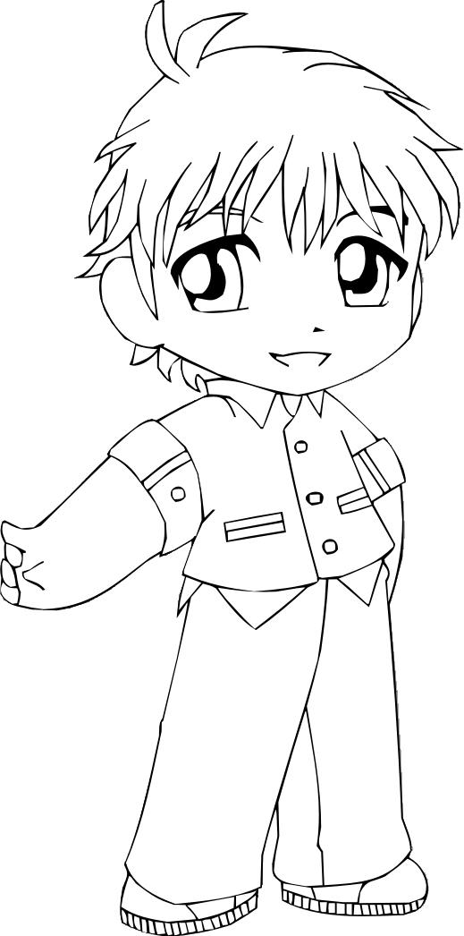 Chibi Boy Drawing at GetDrawings | Free download