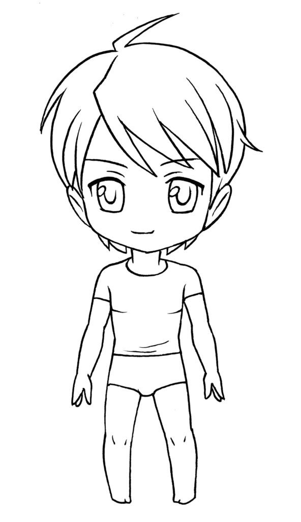 592x1024 Mark Crilley Teaches You How To Draw A Basic Chibi Boy