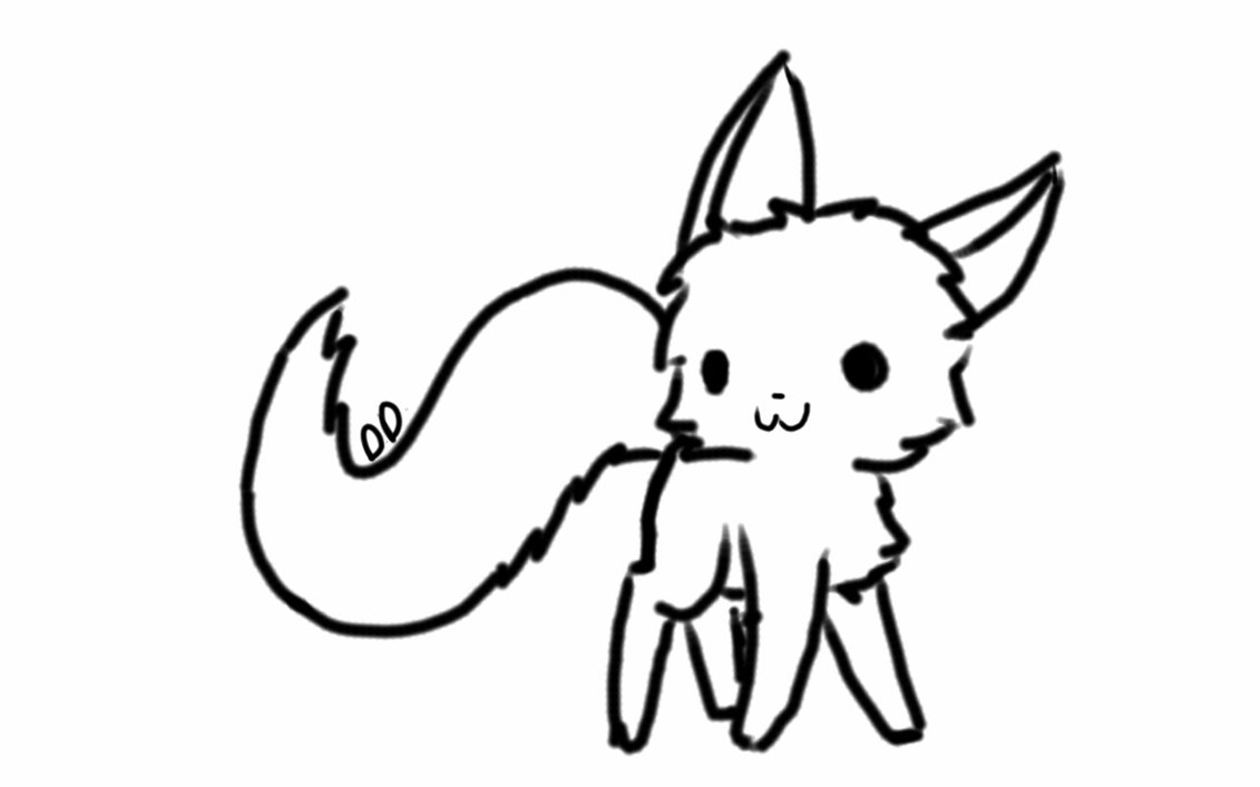 1131x707 Chibi Cat Base By Derpy Dunsparce On DeviantArt