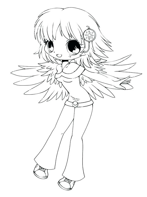 600x801 Great Chibi Coloring Page Print Pages Cute Drawing Cat