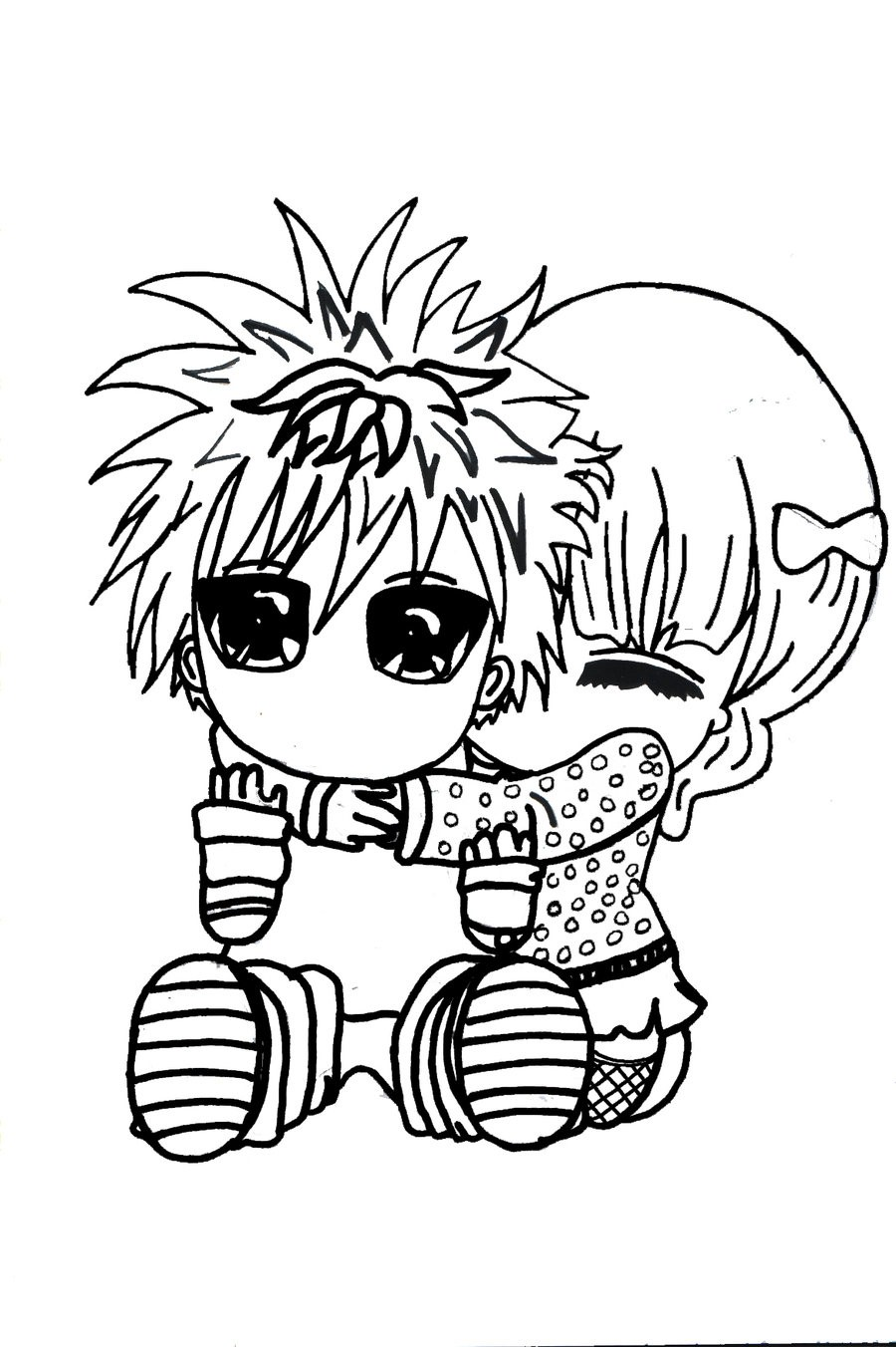 900x1352 Cute Chibi Couple Sketches Our Healthy