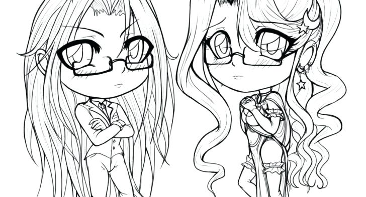 728x393 Cute Couple Coloring Pages