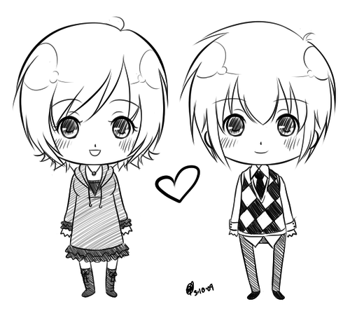 500x444 Image Result For Chibi Couples Learning To Draw