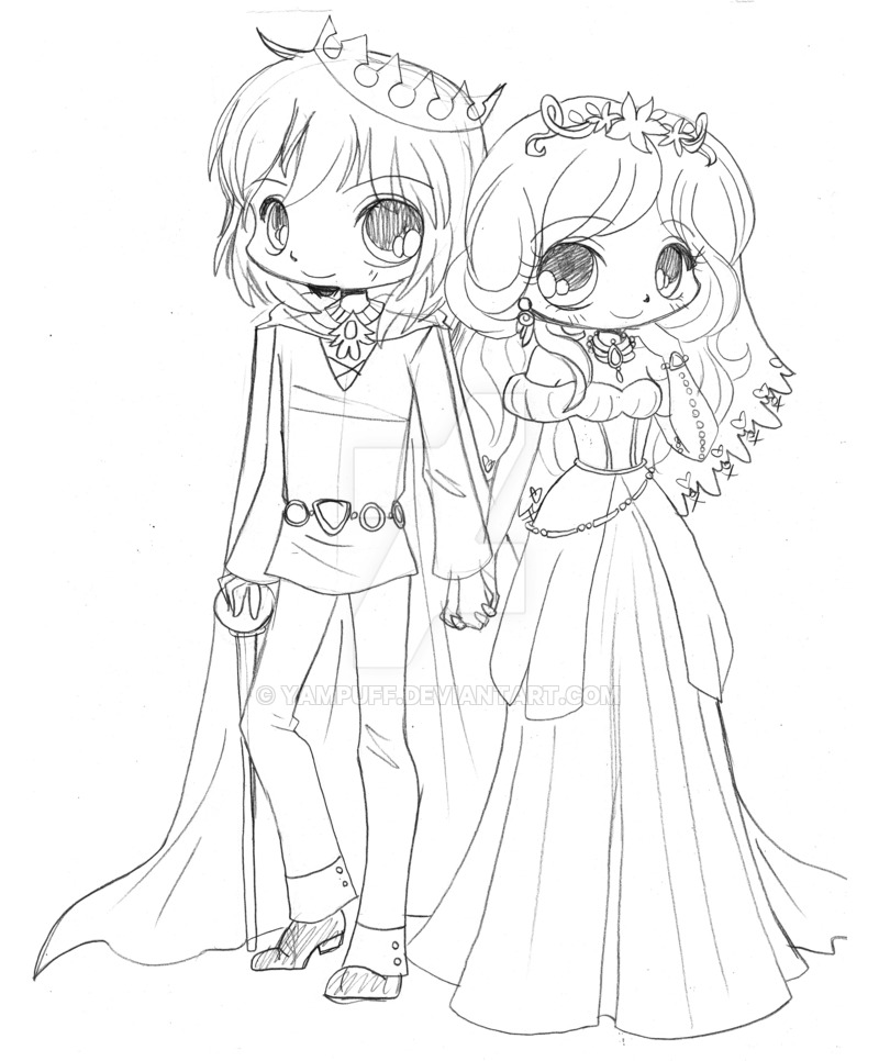 800x966 Chibi Couple Commission