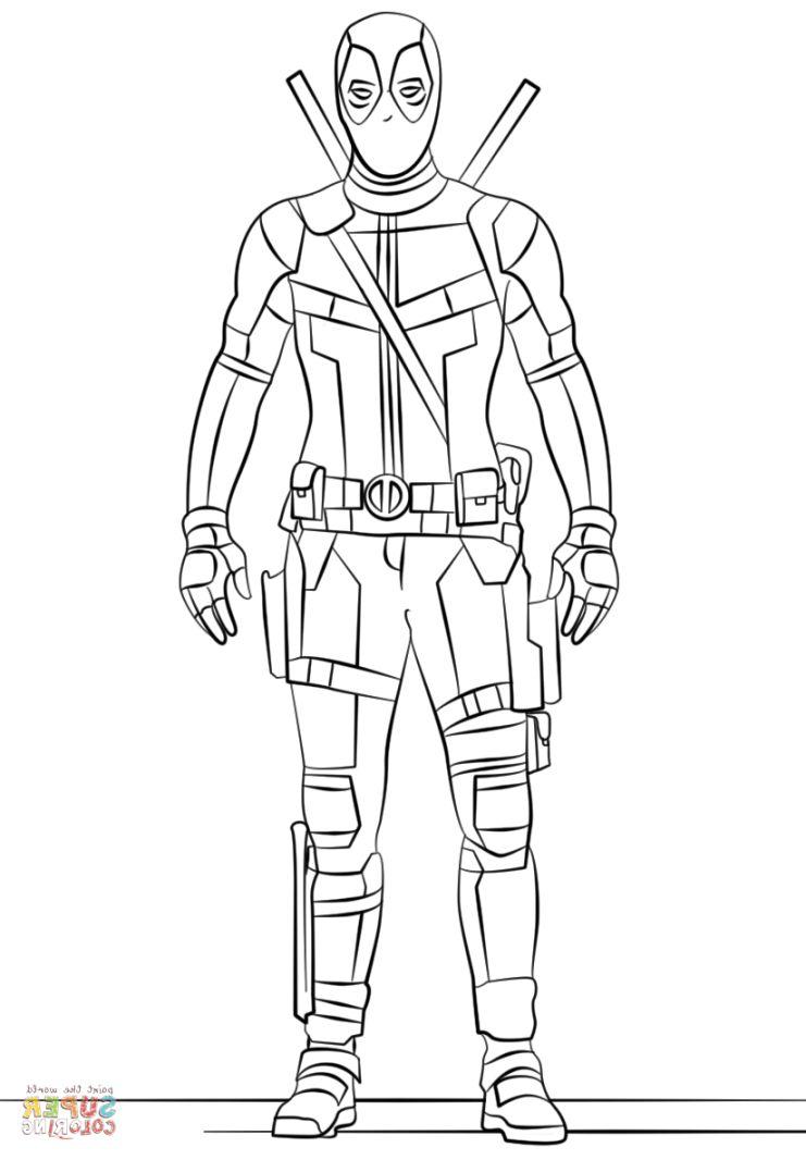 Chibi Deadpool Drawing at GetDrawings   Free download