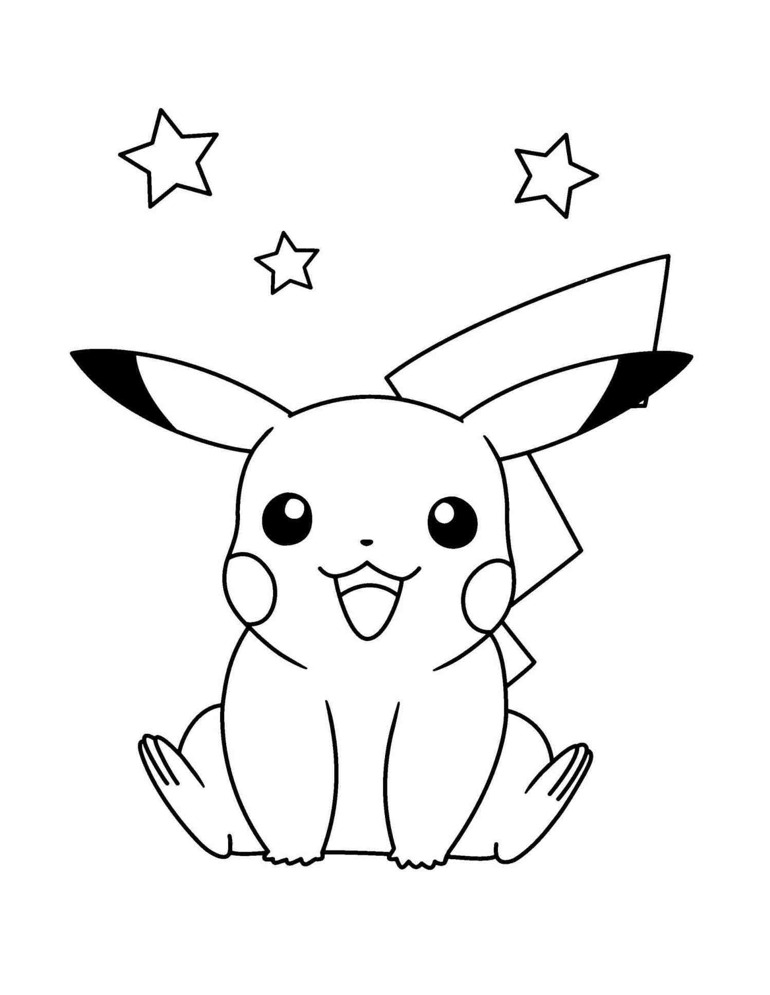 1498x1935 How Cute Easy Drawings Of Pikachu To Draw Kawaii Chibi Pichu