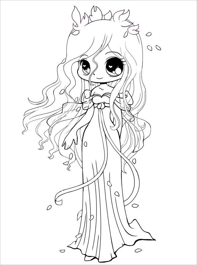 Chibi Girl Drawing At Getdrawingscom Free For Personal