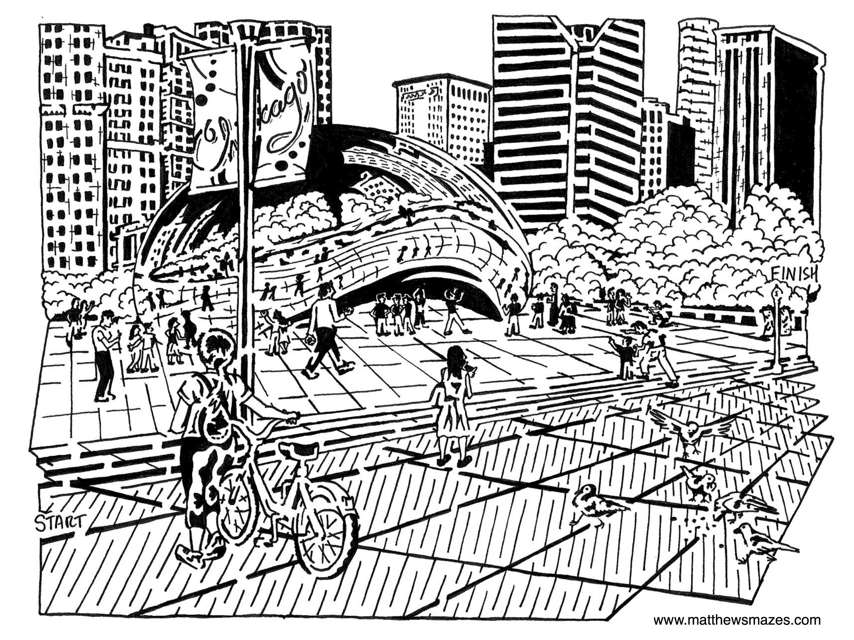 3000x2250 Chicago Mazes By Umatthewsmazes