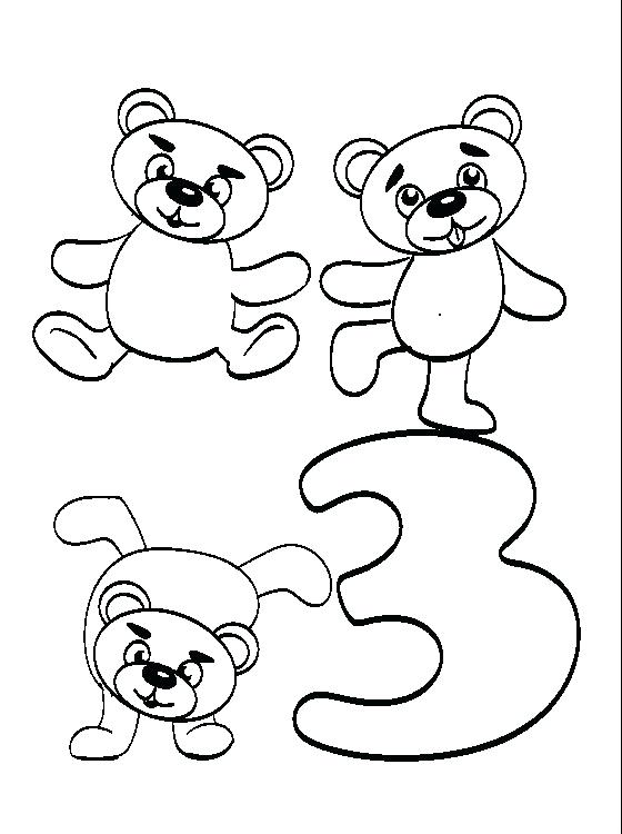 560x750 The Three Bears Coloring Pages And The Three Bears Coloring Page