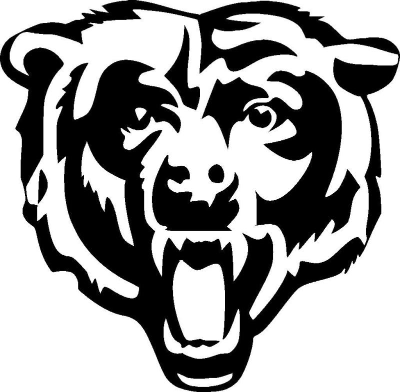 800x785 Chicago Bears Helmet Clipart