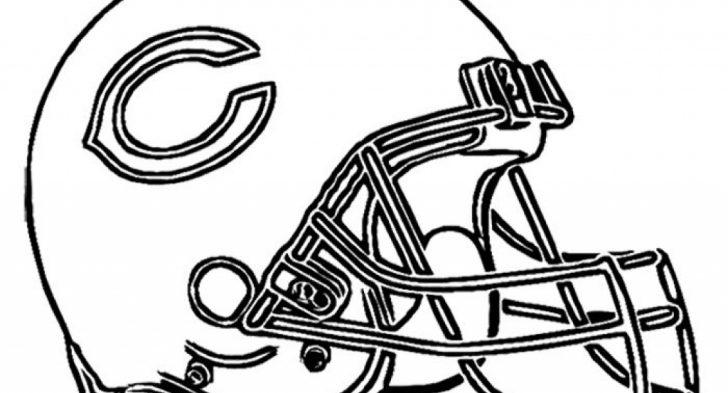 728x393 Chicago Bears Helmet Coloring Page Jaguars Helmet Coloring Pages