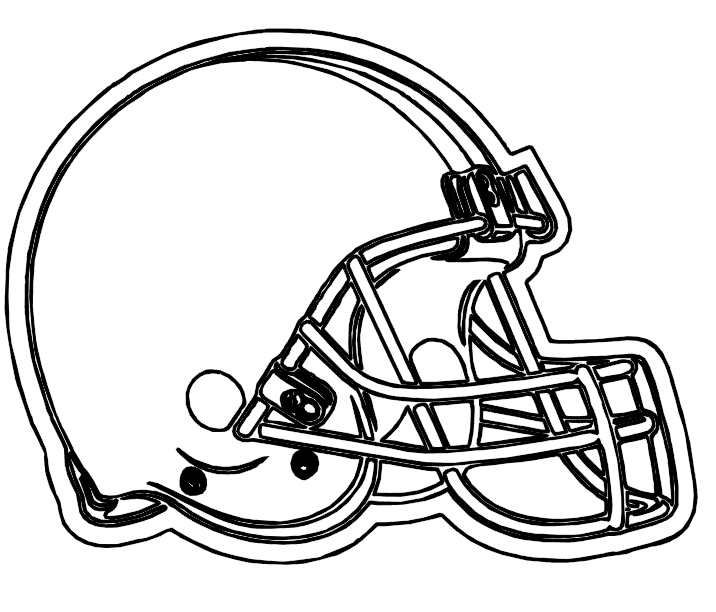bears helmet coloring pages - photo#4