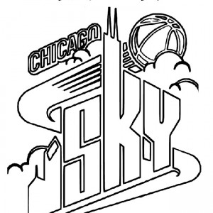 300x300 Chicago Bulls Coloring Pages