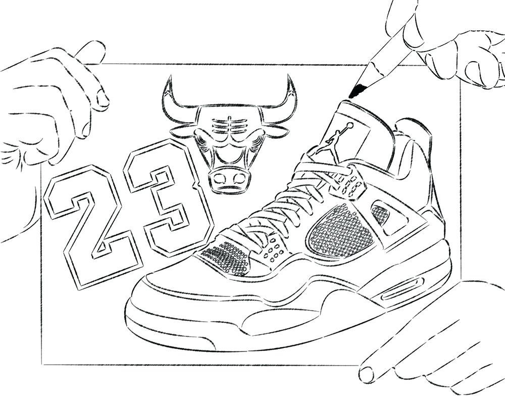 1000x800 Chicago Bulls Coloring Pages Printable For Kids Diaiz
