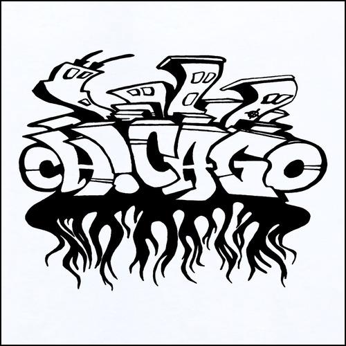 500x500 Chicago Bulls Graffiti