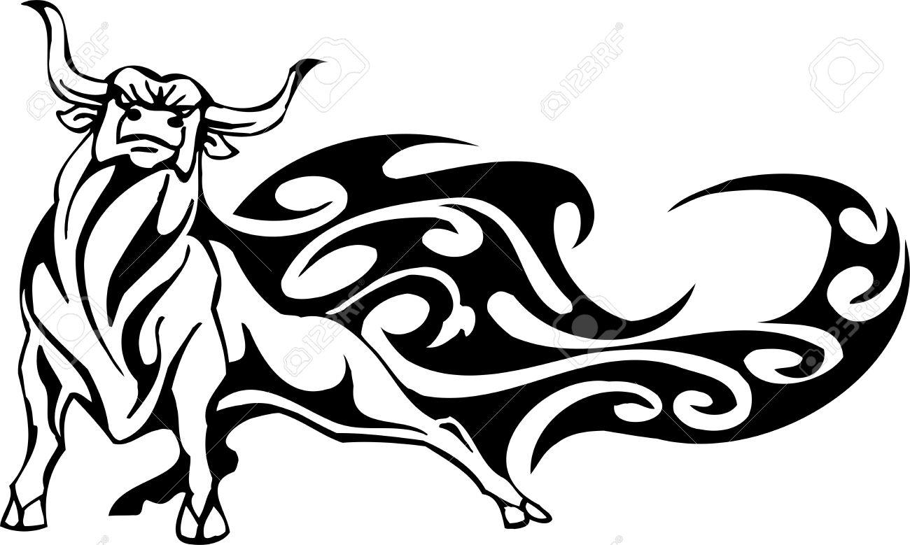 1300x779 Drawn Bulls Taurus