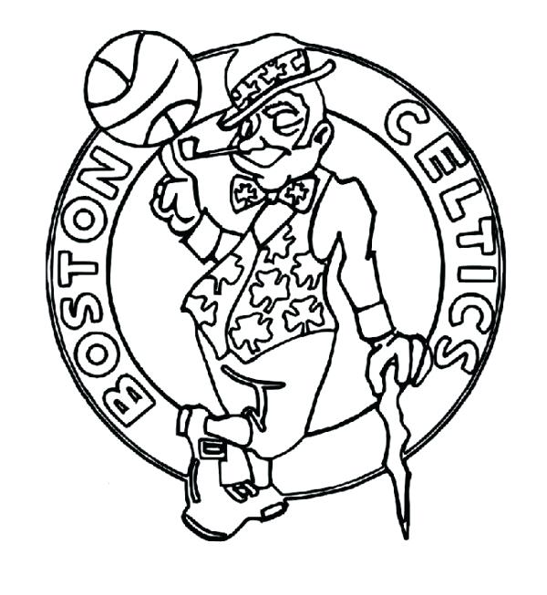 600x653 Beautiful Chicago Bulls Coloring Pages Image White Hot Heat Logo