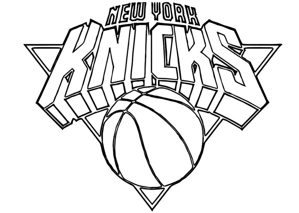 1024x730 Nba Team Logos Coloring Pages