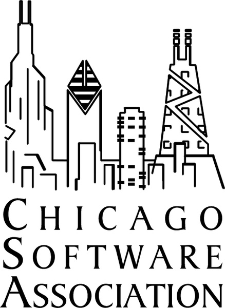 438x600 Chicago Software Association Free Vector In Encapsulated