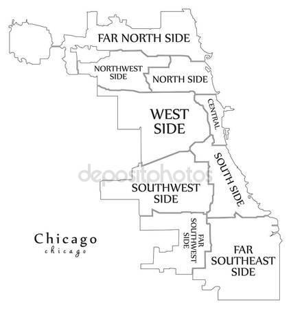 424x449 Modern City Map