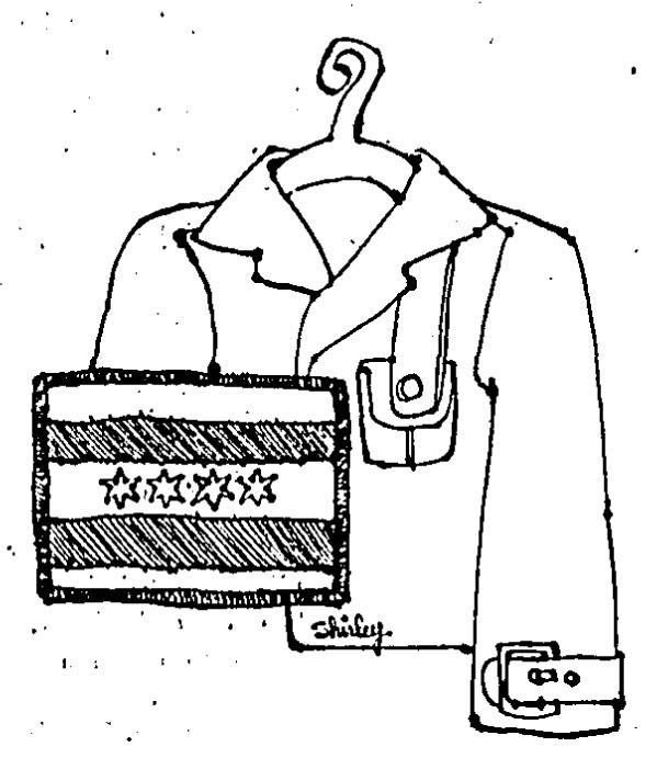 599x691 The Story Of Chicago's Four Star City Flag Robert Loerzel Medium