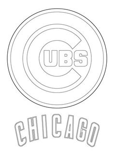 236x314 Chicago Cubs Logo Super Coloring Sports Chicago