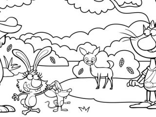 320x240 Picture For Coloring Nature Cat Coloring Pages Wttw Chicago Public