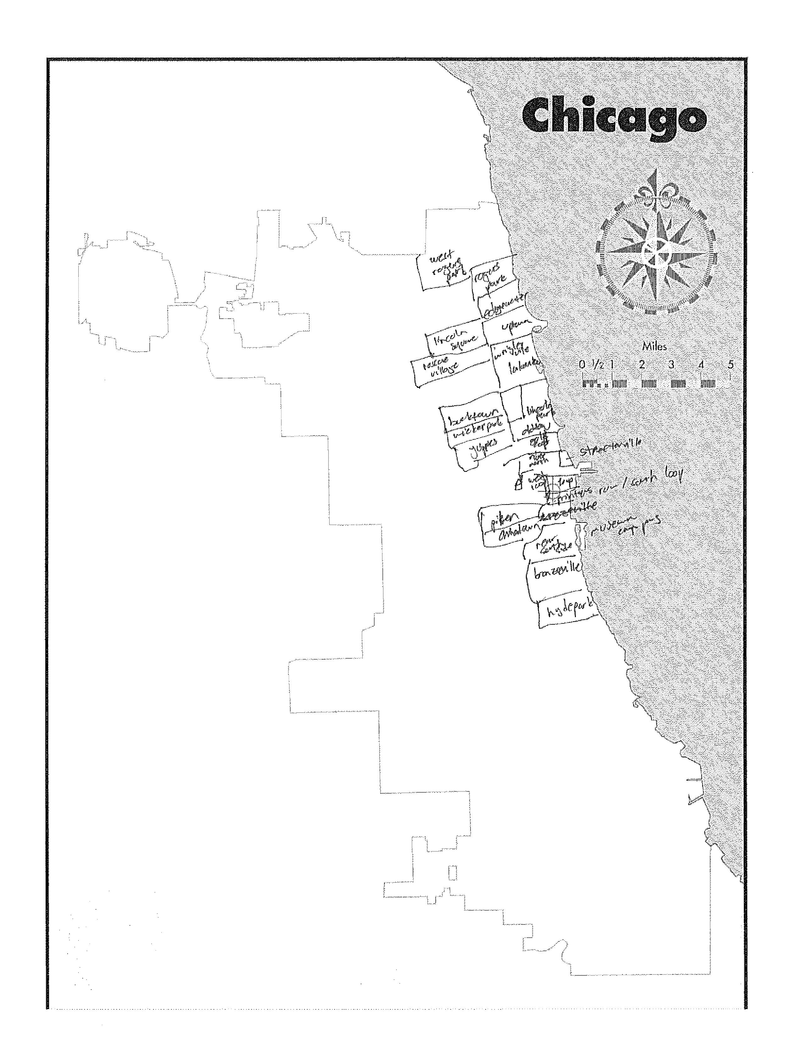 2550x3300 20 Chicagoans Map Chicago Story Luck
