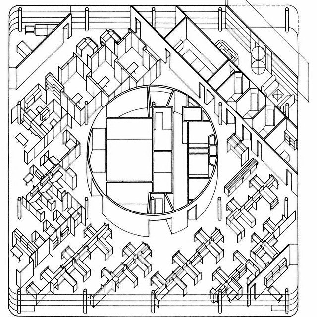 640x640 Benjamin Weese, Community Bank, Chicago, Illinois,1980 Plan